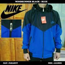 Jual Jaket Nike Parasut harga jaket parasut nike hitam biru terbaru maret 2018 geraiharga