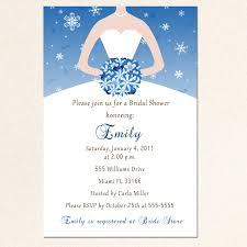 Sweet 16 Photo Invitation Cards Winter Bridal Shower Invitation Card Snowflake Silver Blue