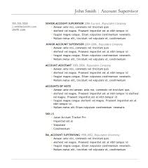 Microsoft Word Resume Templates 2007 Word Sample Resume U2013 Topshoppingnetwork Com