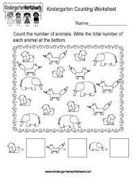 free kindergarten counting worksheets conquering one of the