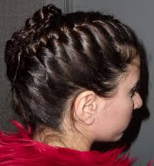 barretts hair the style socialite a fashion society braided updo by