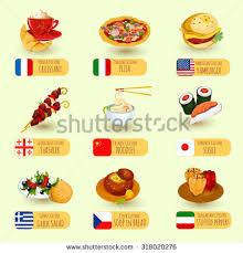 best international cuisine food international cuisine decorative icons ภาพประกอบสต อก