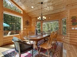large log home views game room w bar sauna u0026 steam rm air con