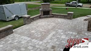 Outdoor Fireplace Patio Designs Brick Paver Patio Fireplace Design Troy Mi 48043 Outdoor
