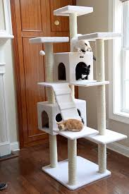 amazon com armarkat cat tree model b7701 ivory pet supplies