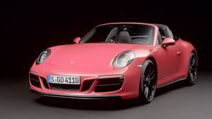 pink convertible porsche 2017 porsche 911 gts models youtube