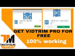 vidtrim pro apk how to get vidtrim pro for android in 100 working