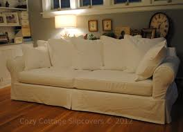 Leather Slipcover For Couch Slipcovers For Sofas
