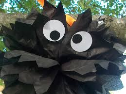 Diy Tutorial How To Make A Halloween Spider Out Of Pom Poms