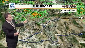 Las Vegas Weather Map by 13 First Alert Weather For Aug 6 Youtube