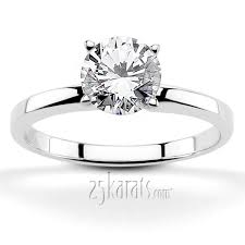 solitaire engagement ring solitaire engagement rings diamonds mountings at 25karats