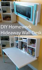 Computer Wall Desk 8 Small Desks And Art Center Ideas For Kids And Small Homes