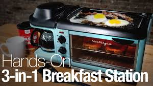 Retro Toaster Ovens This Retro Appliance Is A Griddle Coffee Maker And Toaster Oven