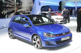 2013 vw golf gti study officially revealed in paris european