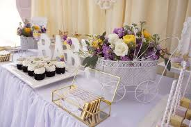 lavender baby shower yellow and purple baby shower baby shower ideas themes