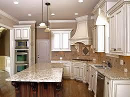 Kitchen Glazed Cabinets Glazing Cabinets Before And After Glazed White Kitchen