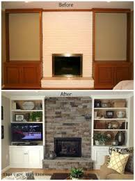 Built In Bookshelves Around Tv by Tv Next To Fireplace Design Ideas Pictures Remodel And Decor