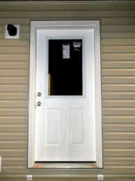 Exterior Door With Window 36 Inch Half Window Exterior Door Giles Homes Home Salon