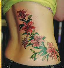 flowers tattoo designs on lower back for women tattoomagz