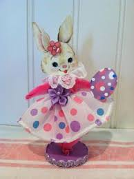 chenille easter vintage style bump chenille easter figure easter vintage and card