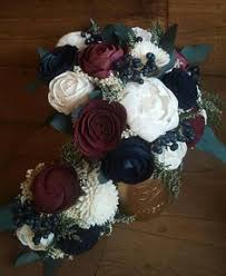 wedding flowers near me burgundy wedding bouquet fall wedding bouquet sola wood bouquet