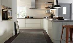 wren living handleless cream gloss kitchen make a style