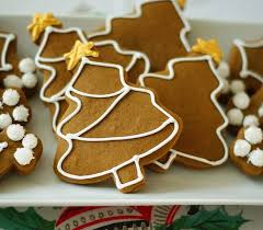 simple decorated gingerbread cookies bake at 350