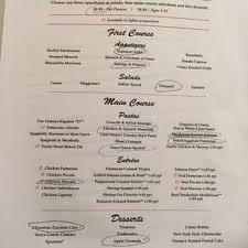 maggianos italy 2015 thanksgiving menu
