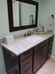 Inch Vanity TopForemost Groups Columbia Bathroom Vanity With - Home depot bathroom vanity granite
