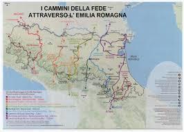 Map Of Switzerland And Italy by Documenti E Mappe Via Romea Germanica Viaromeagermanica