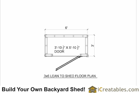 shed floor plan nail free shed plans 3x6