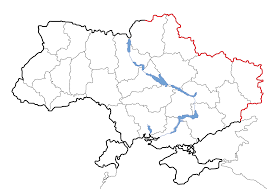 Blank Map Of The States by Russia U2013ukraine Border Wikipedia