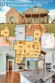 best 20 acadian house plans ideas on pinterest square floor plan 510002wdy welcoming acadian house plan with bonus over garage architectural designs