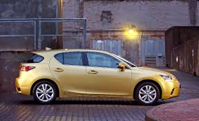 lexus ct200 yellow new look lexus ct 200h lands in sa iol motoring