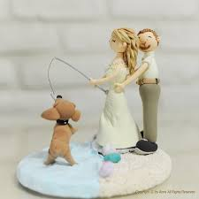 fishing wedding cake toppers cake toppers wedding cakes wedding corners