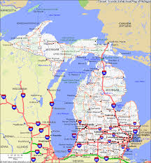 map of michigan map of michigan america maps map pictures