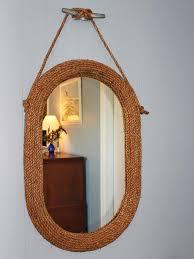 make a beachy mirror hgtv