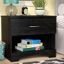 bookcase nightstand combo wayfair