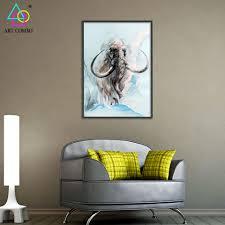Hanging Artwork Aliexpress Com Buy Abstract 3d Artwork Fabric Painting Animals