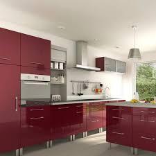 meuble de cuisine aubergine modele cuisine encastrable voir les cuisines meubles rangement