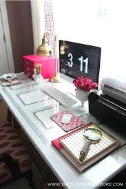 Girly Desk Accessories Feminine Desk Accessories Best Pretty Things Intended For