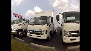 new hino hybrid 195h box truck truck enterprises inc youtube