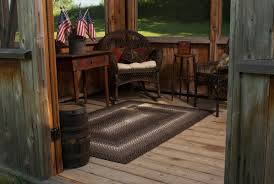 Indoor Outdoor Braided Rugs by Homespice Decor Ultra Durable Driftwood Indoor Outdoor Rug