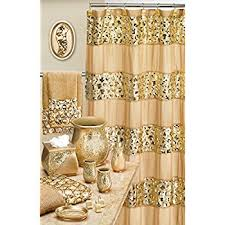 Brown And Gold Shower Curtains Popular Bath 839166 Sinatra Shower Curtain Chagne