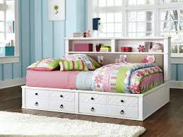 white bookcase bed daybed with storage drawers best home designs ana white twin ideas