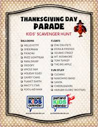 free printable thanksgiving scavenger hunt lists seacoast