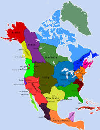 Map North America Vector Map North America Bathymetry For Continent Roundtripticket Me