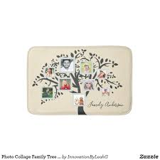template wedding family tree template photo collage personalized