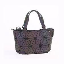 holographic bags new women girl s hologram geometric shoulder bags handbag