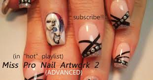 nail art design how to paint a lady how to paint a portrait